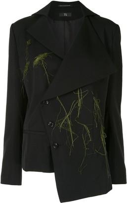 Y's Asymmetric Tailored Blazer