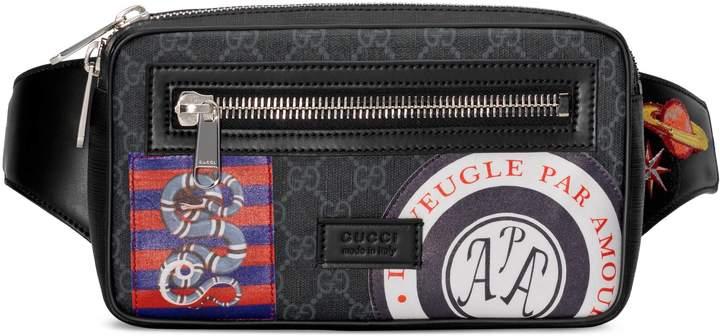 Gucci Night Courrier soft GG Supreme belt bag