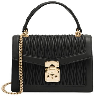 Miu Miu Matelasse Leather Top Handle Bag