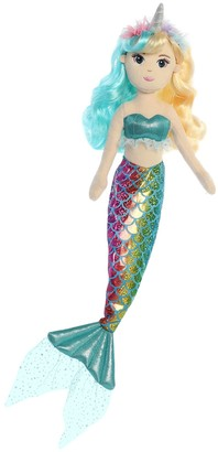 Aurora World Toys Rainbow Unicorn Mermaid