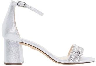 Nina Elenora True Silver Ref Suedette Sandal
