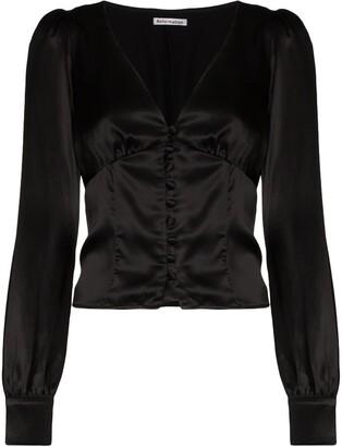 Reformation Cadence v-neck blouse