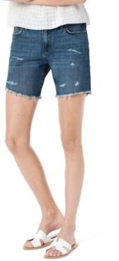 Joe's Jeans Ripped Bermuda Shorts