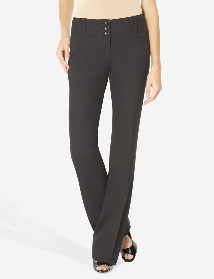 The Limited Lexie Layered Belt Loop Bootcut Pant