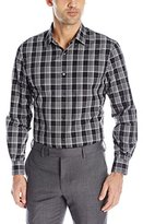 Perry Ellis Men's Plaid Pattern Shirt