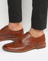 Aldo Bartolello Leather Brogue Shoes