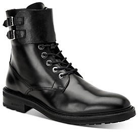 AllSaints Men's Beckworth Leather Combat Boots