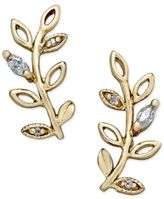Giani Bernini Crystal Vine Ear Climber Earrings in Sterling Silver and 18k Gold-Plated Sterling Silver, Only at Macy's