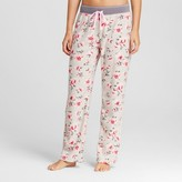 Laura Ashley Women's Corduroy Fleece Pajama Pant - Beatrice Floral