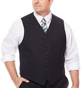 STAFFORD Stafford Travel Suit Vest - Big & Tall