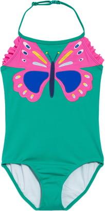 Boden Applique One-Piece Swimsuit