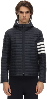 Thom Browne 4 Bar Stripe Quilted Down Jacket