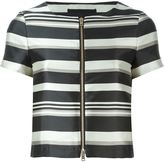 Herno striped shortsleeved jacket
