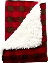 Trend Lab Northwoods Plush Receiving Blanket