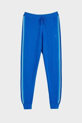 Parker Chinti & Royal Blue Seaside Stripe Track Pants