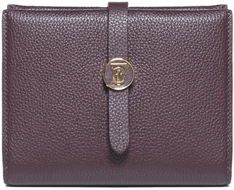 Burberry TB Monogram Plaque Wallet