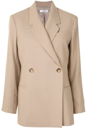 Anine Bing Boxy Double-Breasted Jacket