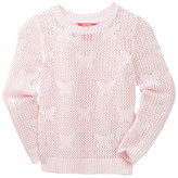Joe Fresh Open Knit Sweater (Toddler & Little Girls)