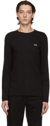 HUGO BOSS Black Logo Long Sleeve T-Shirt