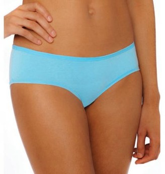 Gildan Gilden Women's Tag Free Cotton Stretch Hipster Panties, 3-Pack
