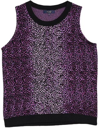 Rachel Roy Leopard Print Knit Tank (Plus Size)