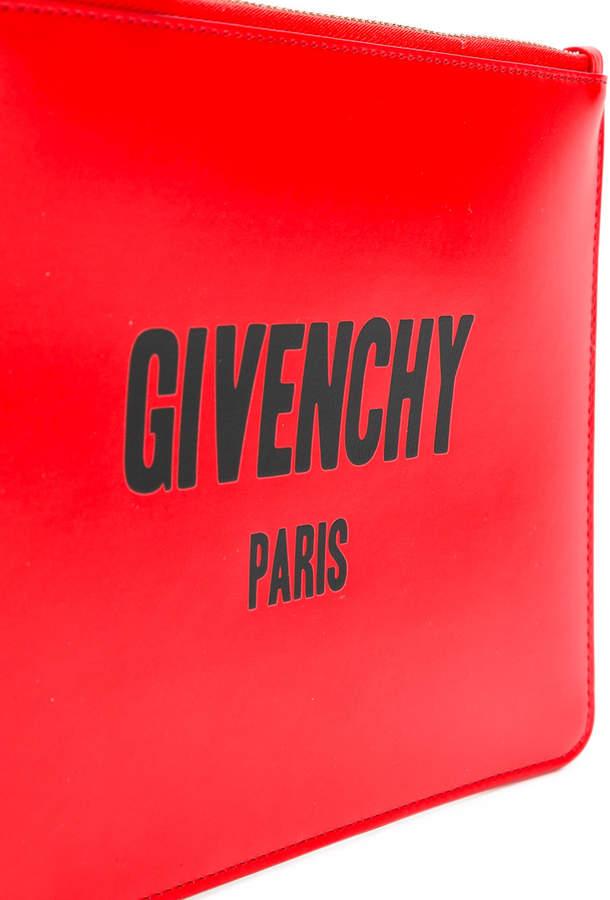 Givenchy Paris clutch bag