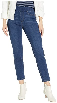 Liverpool Petite Meredith Pull-On Ankle Slim Leggings in Elysian Dark (Elysian Dark) Women's Jeans