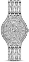 Bulova Crystal Pavé Watch, 32mm
