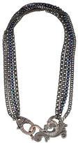 Stephen Webster Jewels Verne Black Pearl Necklace