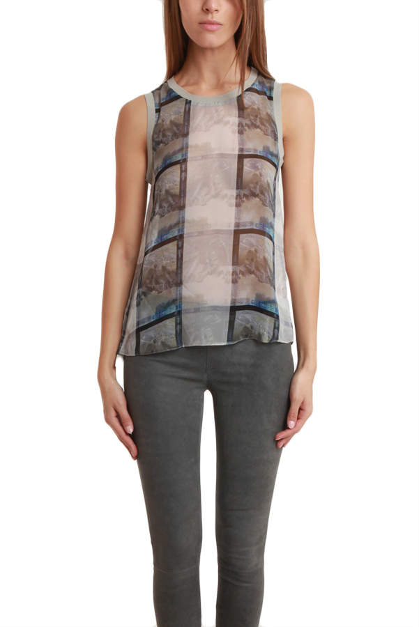 Theyskens' Theory theyskens theory Bannu Silk Top