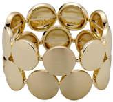Pilgrim Gold-Plated Circular Bracelet