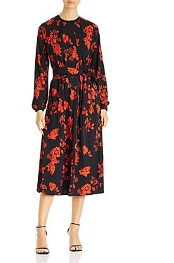 Tory Burch Printed Jersey Midi Dress
