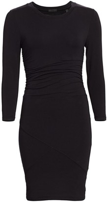 ATM Anthony Thomas Melillo Stretch Pima Cotton Bodycon Dress