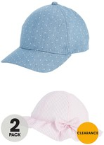 Very Girls 2 Pack Cap And Sunhat