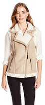 Design History Women's Shearling Vest