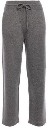 Agnona Melange Cashmere-blend Track Pants