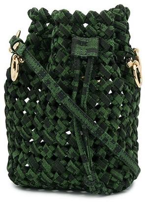 Fendi mini Mon Tresor woven bag
