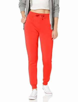 Southpole Womens Fleece Basic Jogger Sweatpants