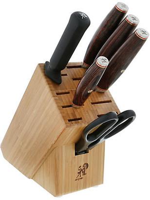 Artisan 7-Pc Knife Block Set - Brown - Miyabi