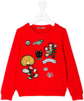 Ermanno Scervino patch sweatshirt
