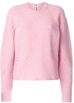 MSGM knit jumper - women - Spandex/Elastane/Wool - S