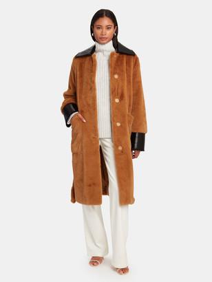 Stand Studio Pamella Faux Fur Coat