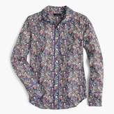 J.Crew Club collar perfect shirt in Liberty® elderberry floral