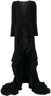 Paule Ka long-sleeve maxi dress
