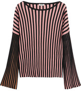 Kenzo Ribbed Stretch-knit Top - Pink