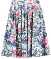 Louche FURIE TROPICAL Pleated skirt multi