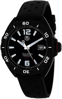 Tag Heuer Formula 1 WAZ2115.FT8023 Men's Black Titanium Automatic Watch