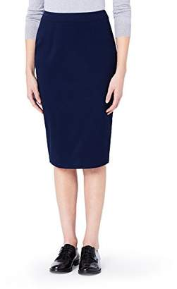 MERAKI Women's Cotton-Blend Pencil Skirt,(Size: XXX-Large)