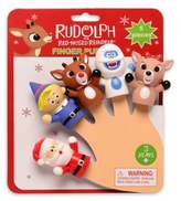 Pearhead Rudolph The Red-Nosed Reindeer 5-Piece Finger Puppets Set