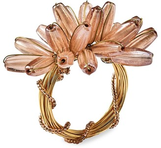 Kim Seybert Camellia Napkin Ring
